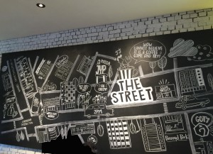 Sketches representing JYP artists.