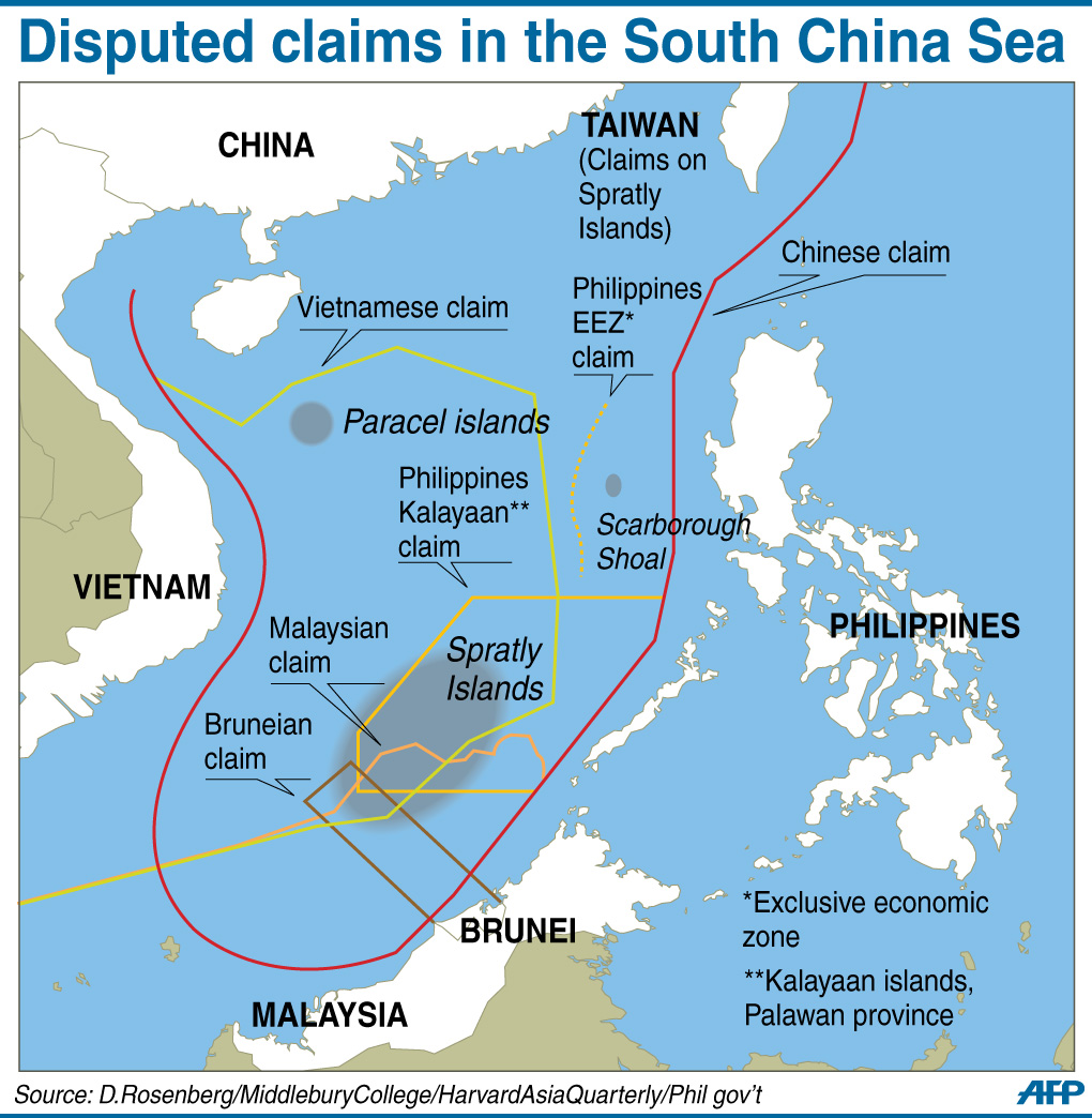 phil vs china s claim over the Reflections on china's claim to the philippines claims began in 1978 when the corrupt bases its claims on having taken over some islands after the.