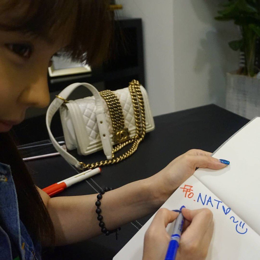 Bom writes message to fan who has cancer