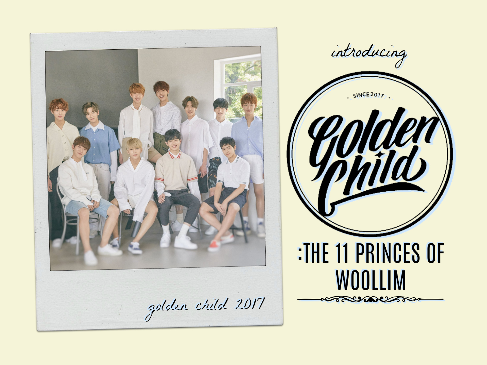 Introducing Golden Child: The 11 Princes of Woollim - OH! Press