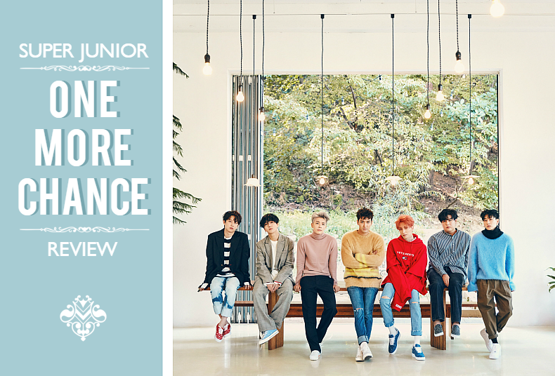Song Review : Super Junior One More Chance - OH! Press