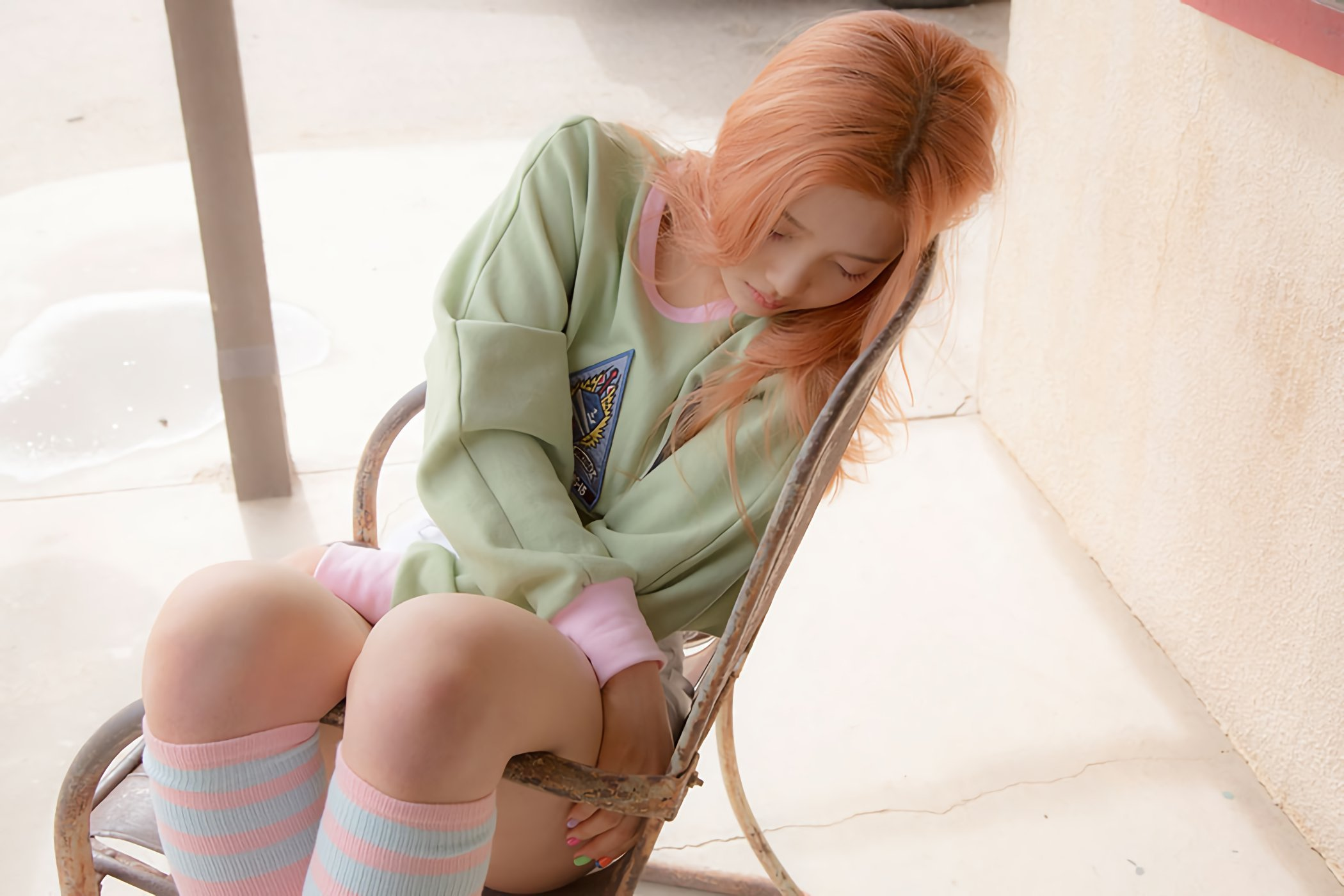 park sooyoung sleeping