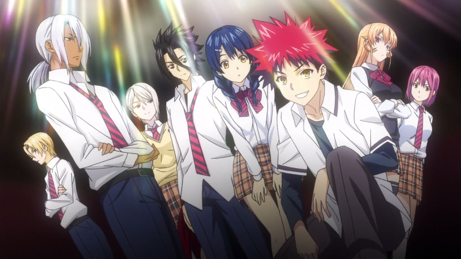 Food Wars: Meeting the new Elite 10 Council of Totsuki ...