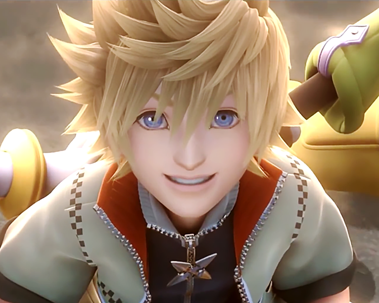 Show his KH3 model you cowards