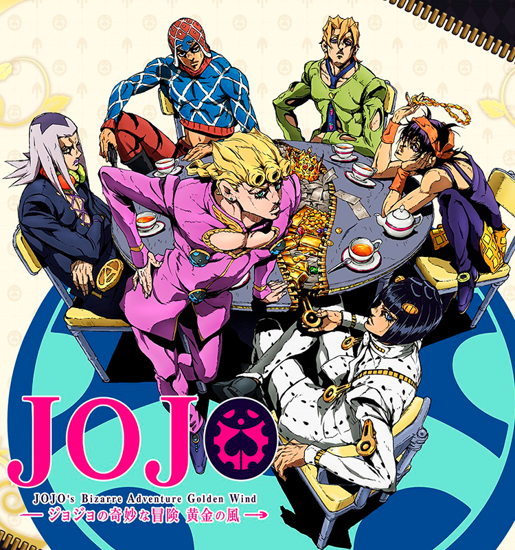 REVIEW | JoJo: Golden Wind and the One Who Stole the Show - OH! Press