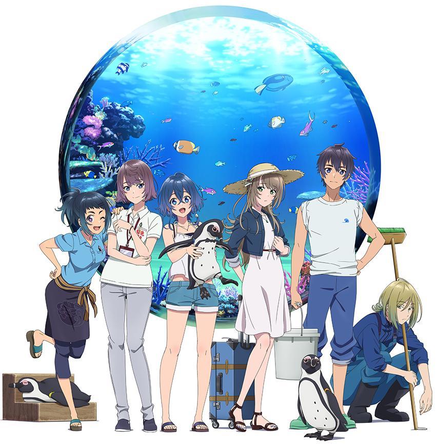 Shiroi Suna no Aquatope characters